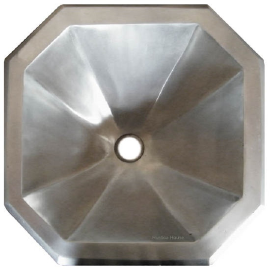 bath pewter sink octagonal