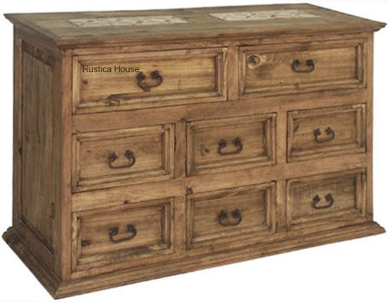 mexican rustic sideboard