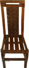 handmade mexican wooden chair