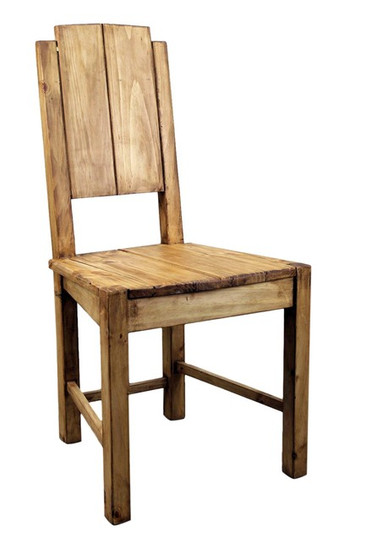artisan crafted mexican wooden chair