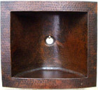 copper bar sink handcrafted