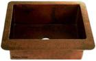 copper bar sink artisan made