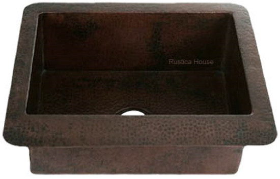 copper bar sink designer