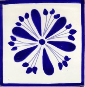 Mexican moroccan ceramic tiles