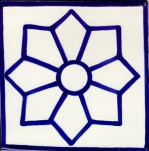 old European moroccan ceramic tiles