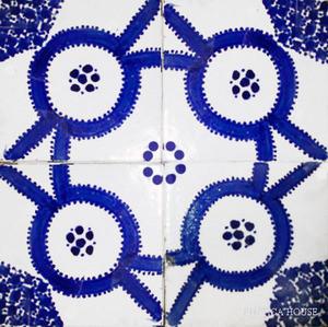 Arabic moroccan ceramic tiles