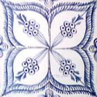 folk art moroccan ceramic tiles