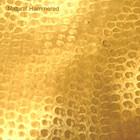 hammered natural tin range hood color