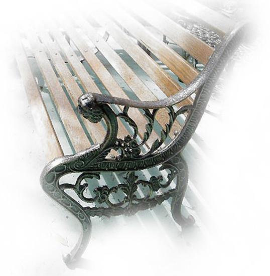 garden bench colonial