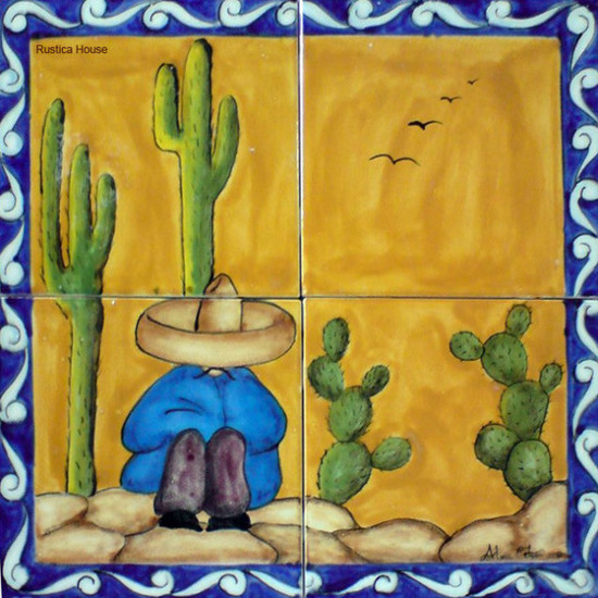 tile mural rancherito