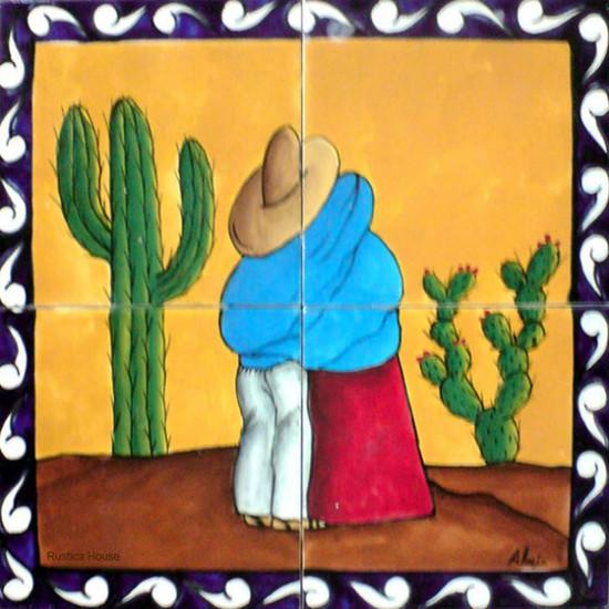 tile mural rancheritos