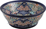 talavera bath sink hand painted
