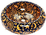 yellow cobalt mexican vessel sink