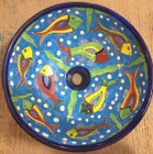 round talavera vessel sink on sale