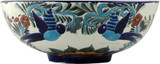 Mexican talavera vessel sink