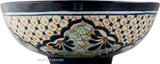 hand crafted talavera vessel sink