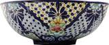 made talavera vessel sink