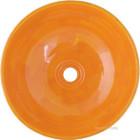yellow talavera vessel sink colors