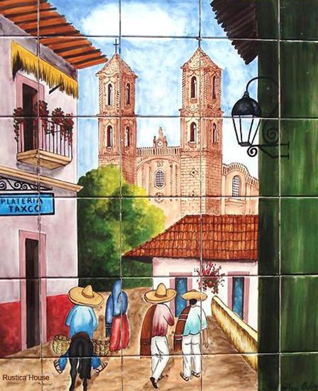 tile mural taxco