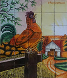 tile mural cockrow