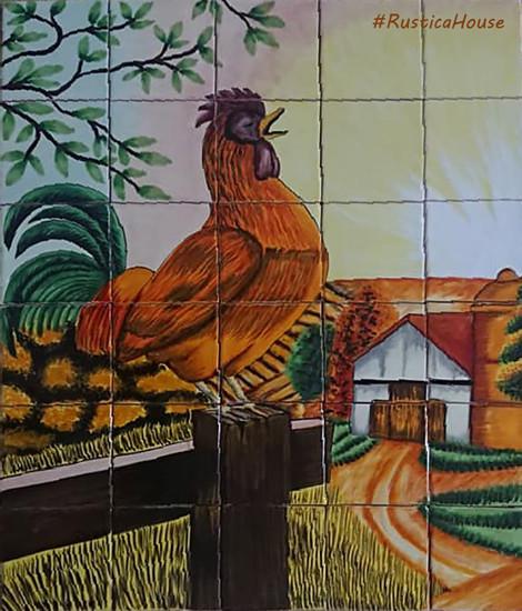 tile mural cockrow