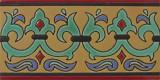 classic relief border tiles