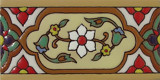 classic colonial relief border tiles