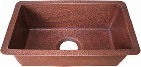 copper bar sink luxury