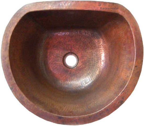 copper bar sink Mexican