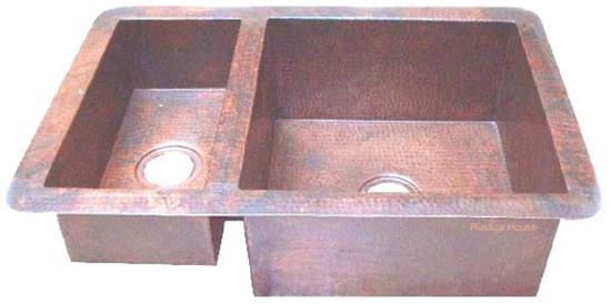 hacienda copper kitchen sink
