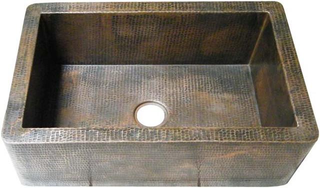Apron Copper Kitchen Sink Alexa
