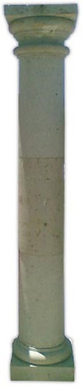 french stone column