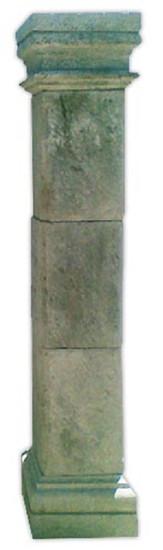 hacienda stone column