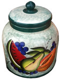 talavera fruits water crock