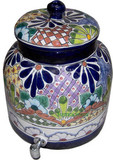 talavera mexican water crock