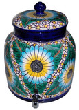 talavera spanish water crock