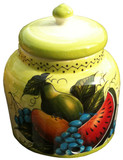 talavera watermelon pear water crock