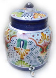 talavera arabic water crock