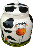 talavera cow water crock