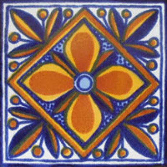Mexican tile handmade