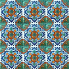 Mexican tiles handcrafted