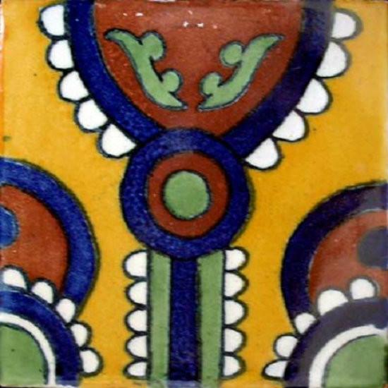 Mexican tile artisan made