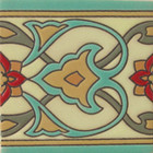 hacienda relief tile green