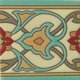 hacienda relief tile green