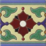 guanajuato relief tile white