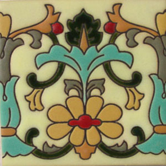 old europe relief tile yellow