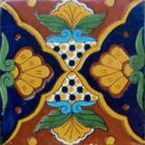Mexican tile handcrafted