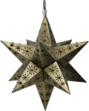 mexican tin star lamp