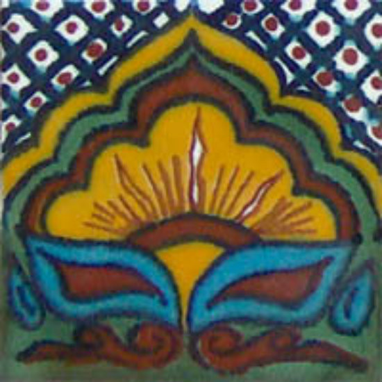 mexican guanajuato border tile