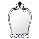 artistic iron mirror